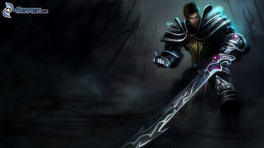 League of Legends, guerrero