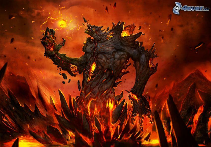 League of Legends, guerrero oscuro