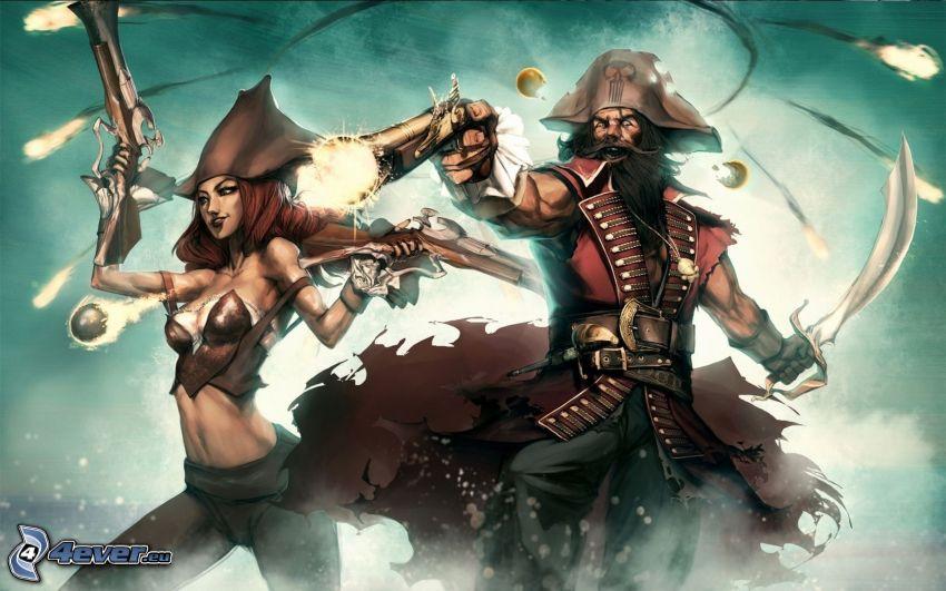 League of Legends, Piratas