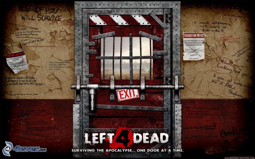 Left 4 Dead, prisión