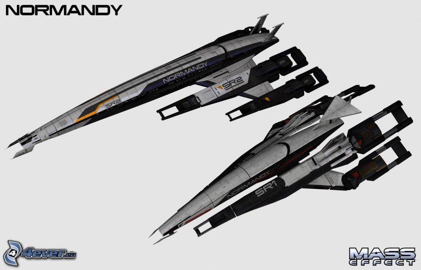 Mass Effect, armas