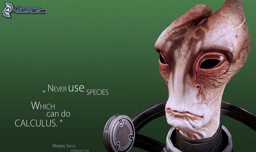Mass Effect, extraterrestre