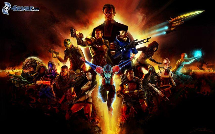 Mass Effect, luchadores