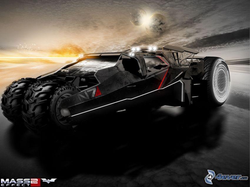 Mass Effect 2, coche