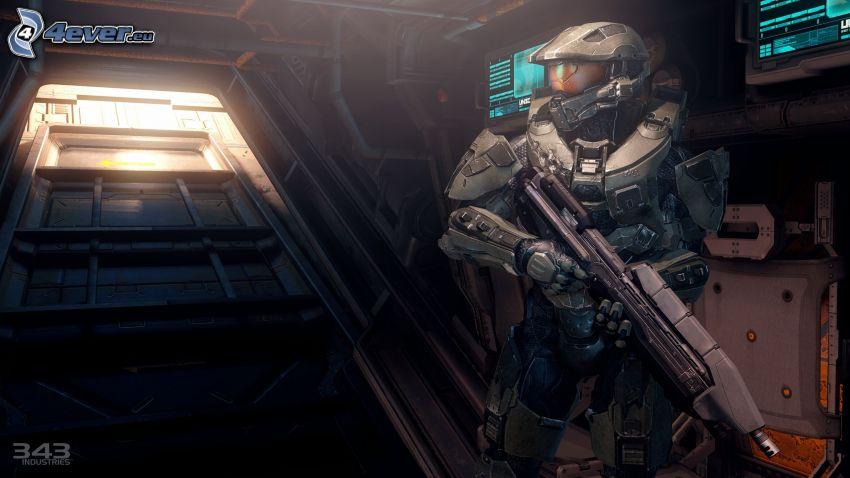 Master Chief - Halo 4, soldado de ciencia ficción