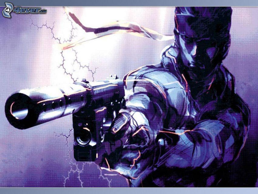 Metal Gear Solid, Playstation