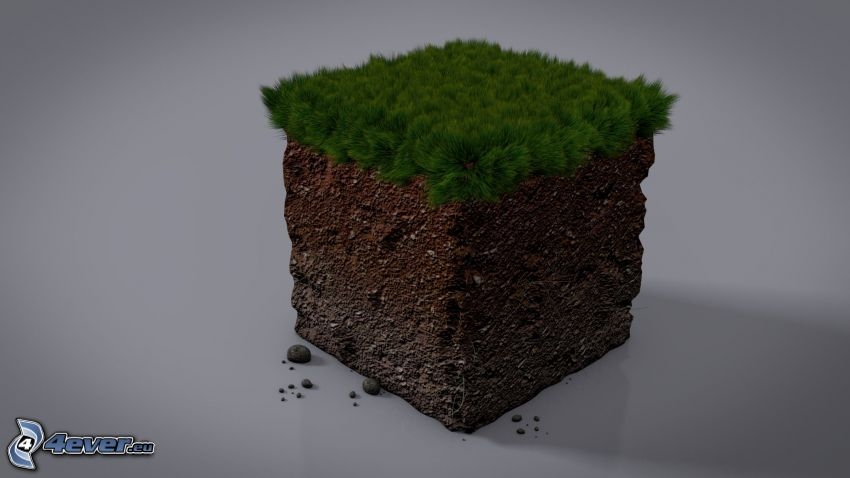 Minecraft, cubo