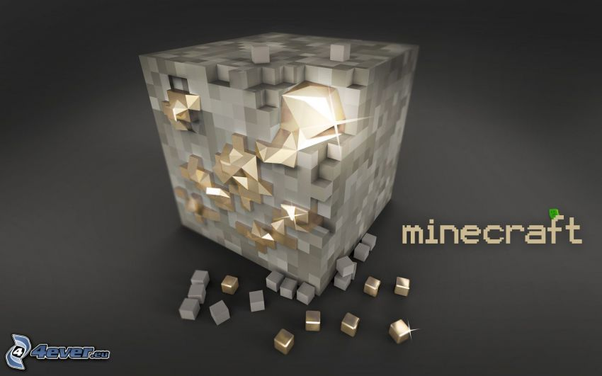 Minecraft, oro