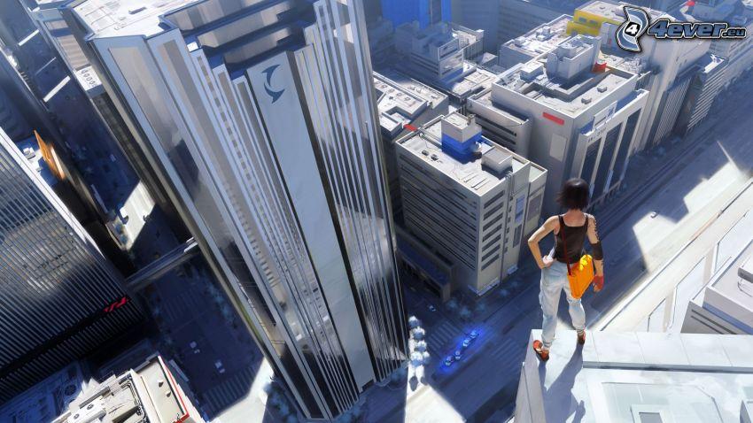 Mirrors Edge, EA, rascacielos