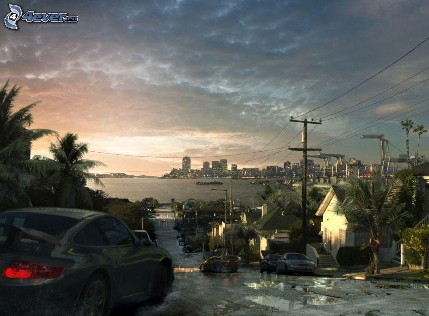 Need For Speed, Ciudad al atardecer