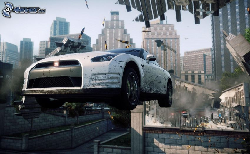 Need For Speed - Most Wanted, Nissan GTR