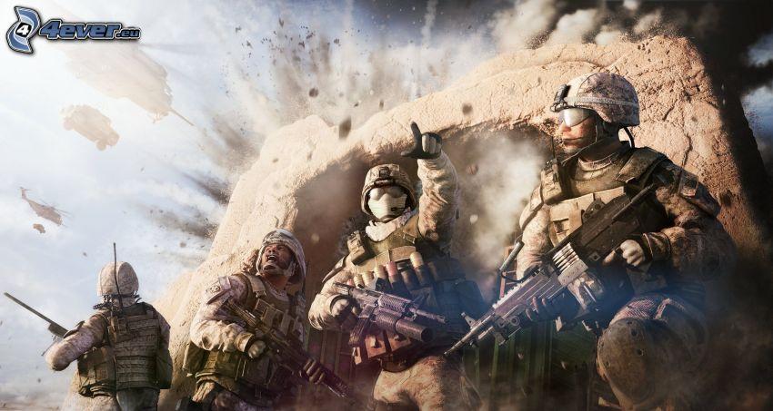 Operation Flashpoint: Red River, soldados