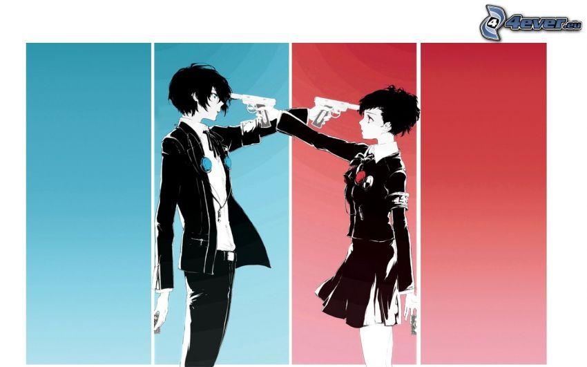 Persona 3, asesinato