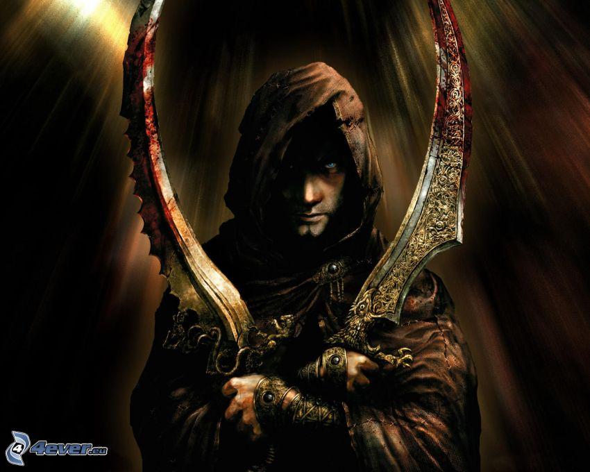 Prince of Persia, hombre con arma