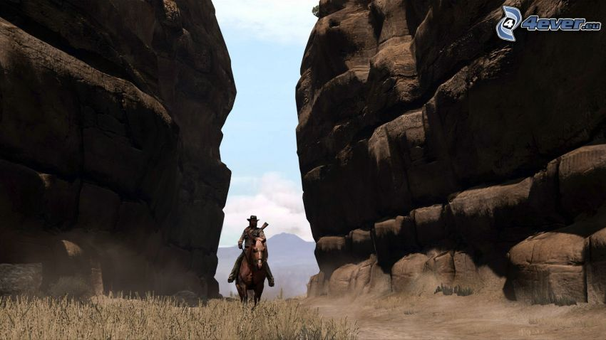 Red Dead Redemption, cowboy