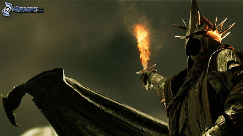 Señor de los anillos, caballero oscuro