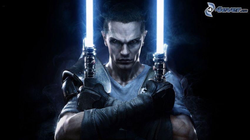 Star Wars: The Force Unleashed 2, sable de luz
