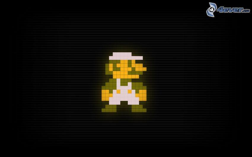 Super Mario, pixel