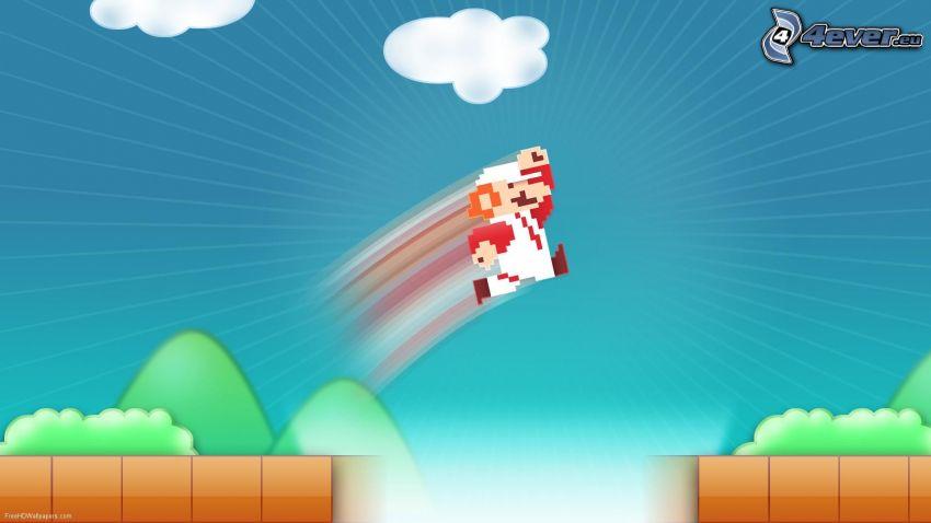 Super Mario, salto