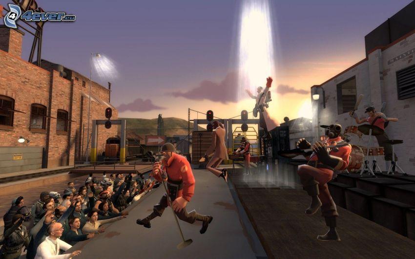 Team Fortress 2, concierto