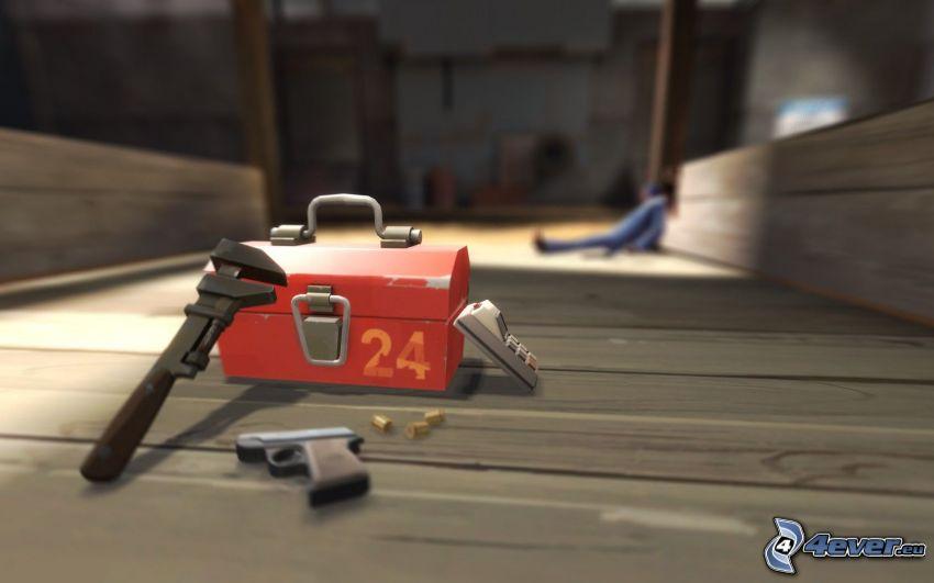 Team Fortress 2, maletín