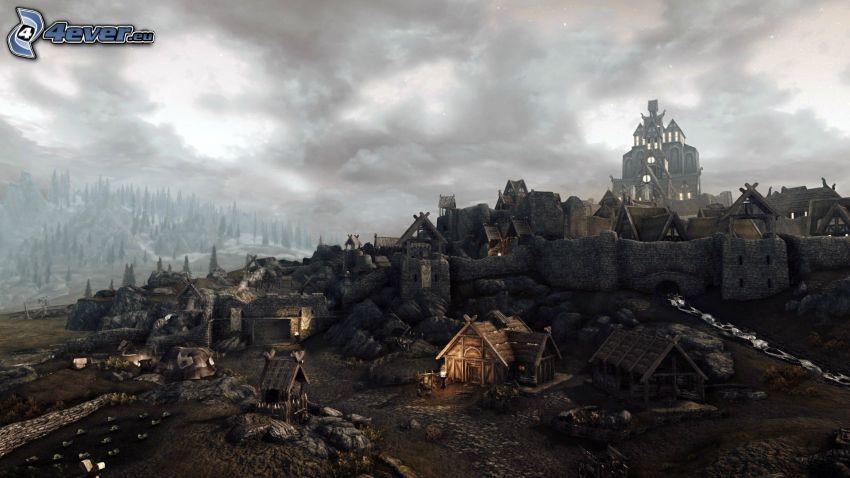 The Elder Scrolls Skyrim, aldea
