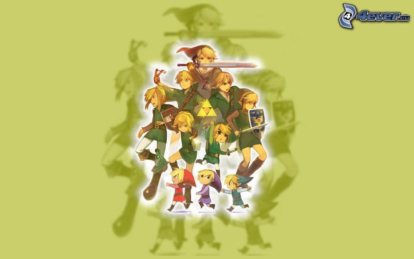 The Legend of Zelda, elfos