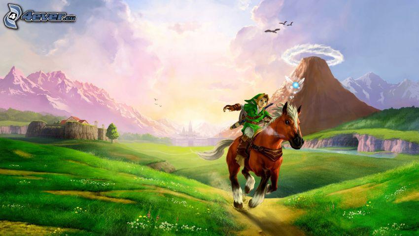 The Legend of Zelda, paisaje
