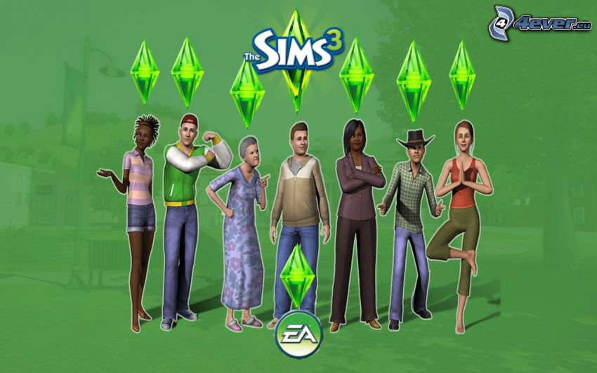 The Sims 3, caracteres