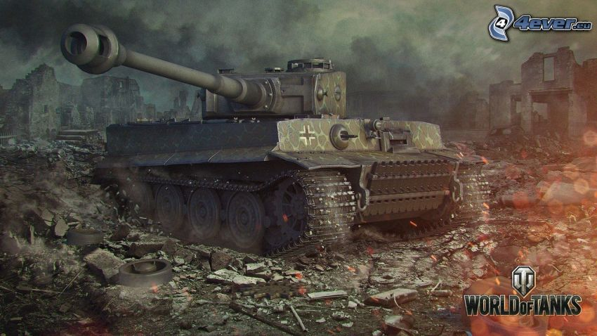 Tiger, World of Tanks, tanque