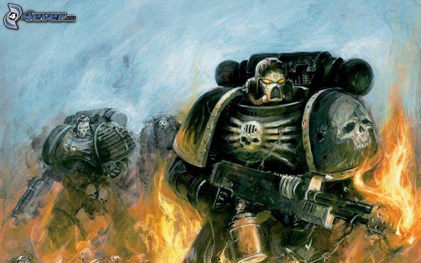 Warhammer, fuego