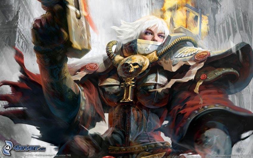 Warhammer, guerrera