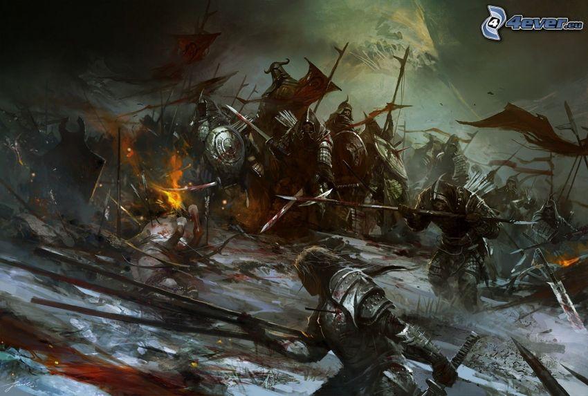 Warhammer, lucha