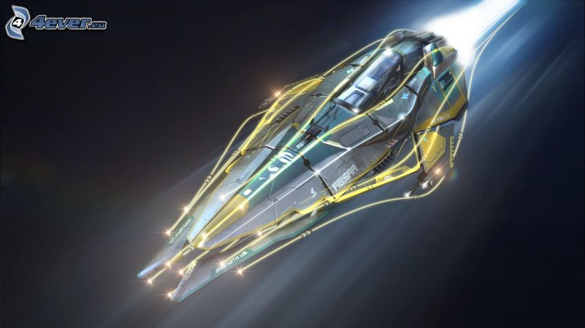 Wipeout 2048, astronave