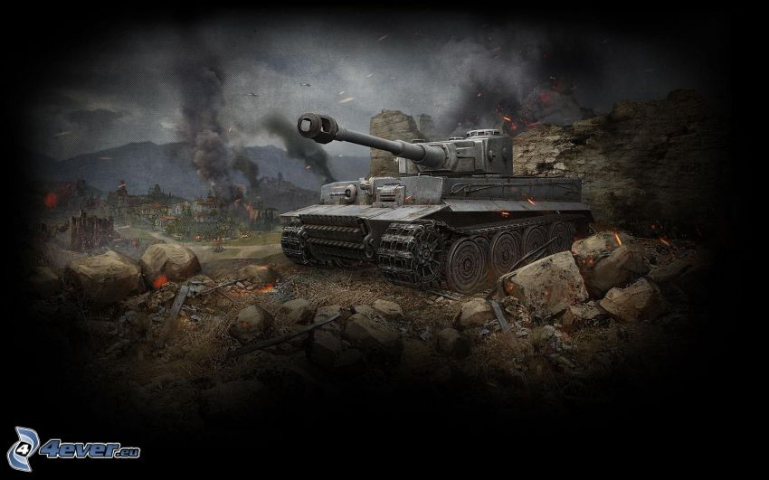 World of Tanks, Tiger, Wehrmacht