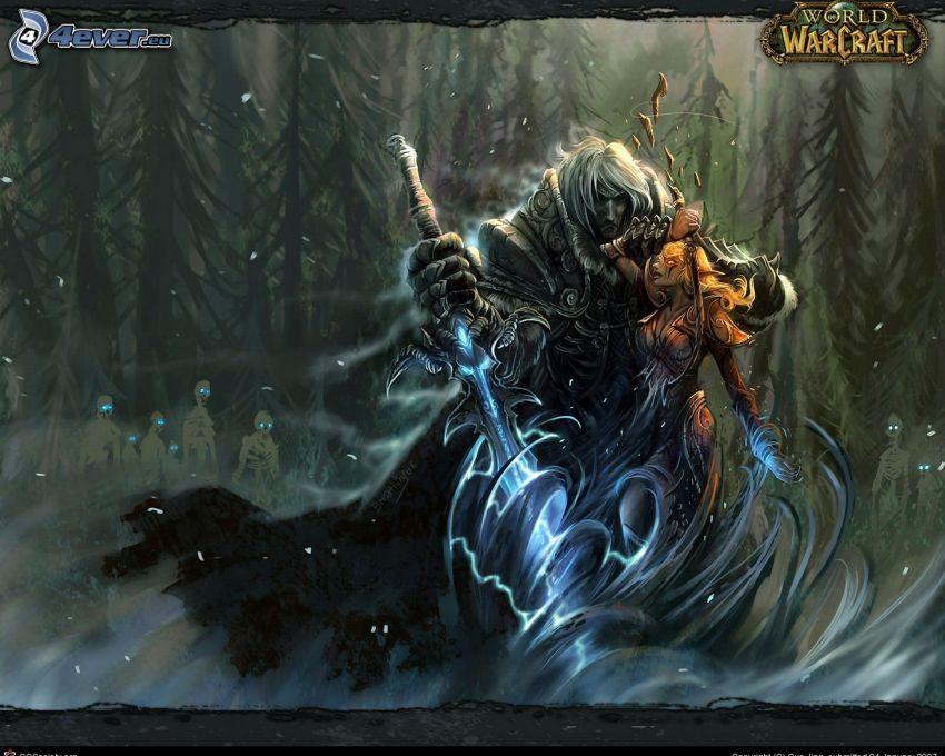 World of Warcraft, guerrero fantástico
