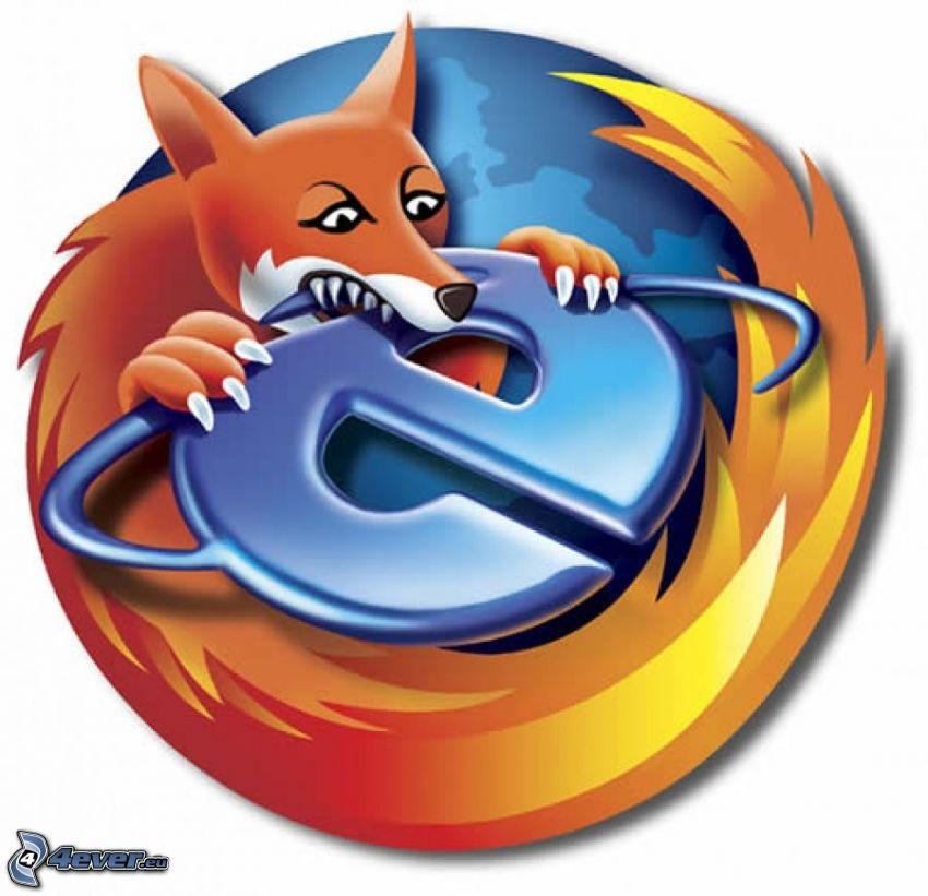 Firefox, Explorer
