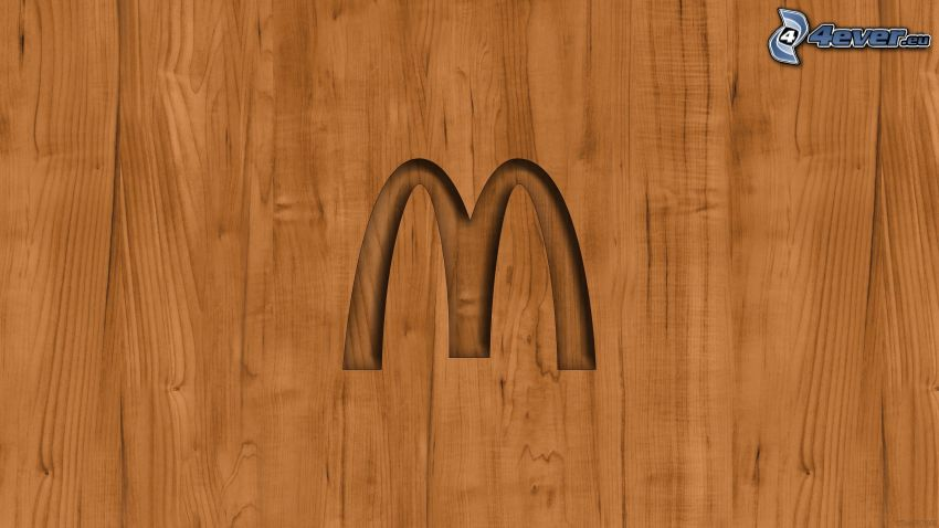 McDonald's, madera