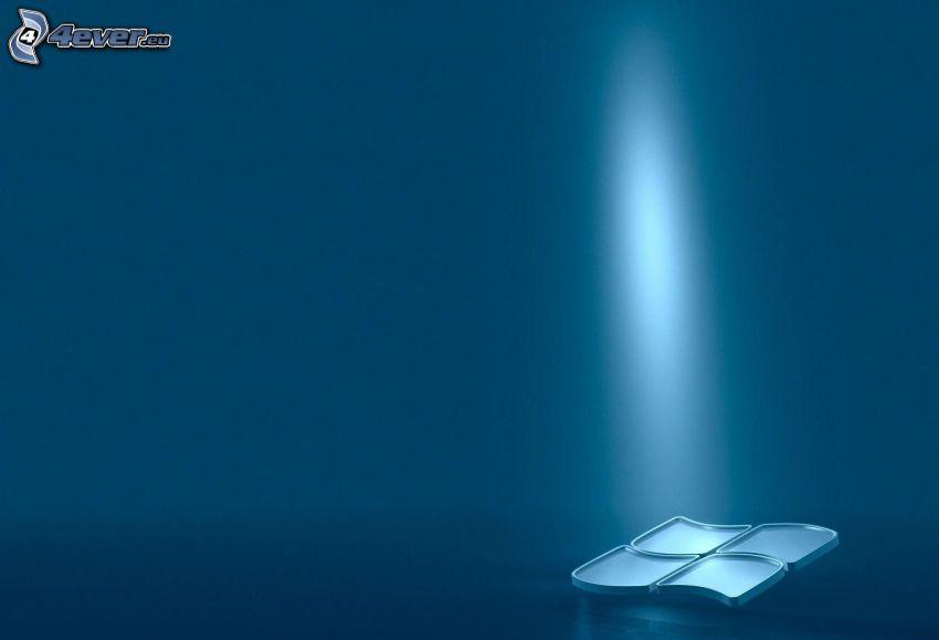 Windows, luz intensa