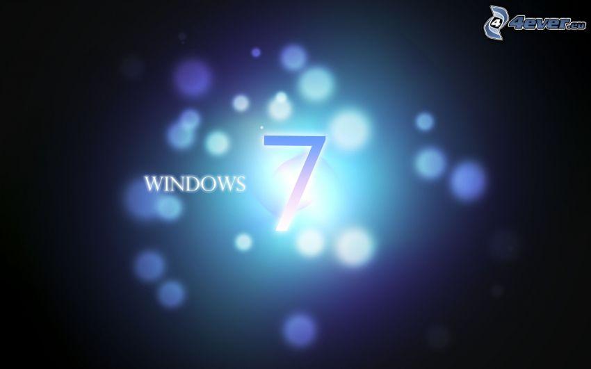 Windows 7, círculos