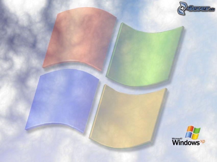 Windows XP, nubes