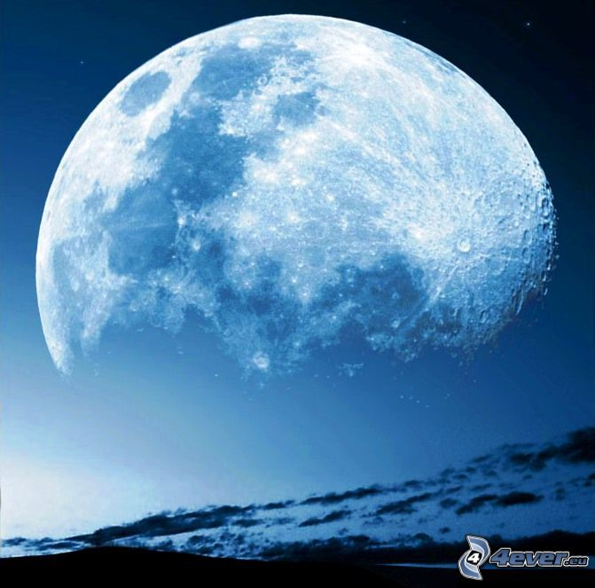 Luna, cielo, universo