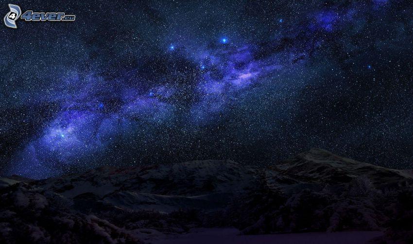 Nebulosa, montañas