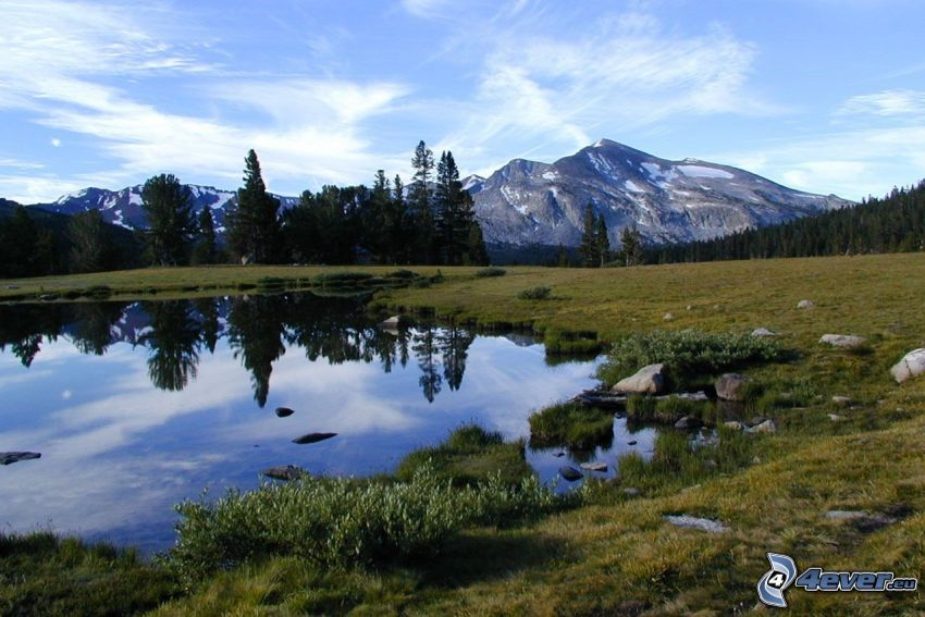lago, Parque nacional de Yosemite