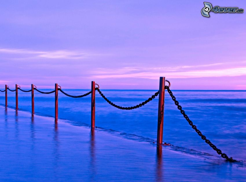 barrandilla, mar