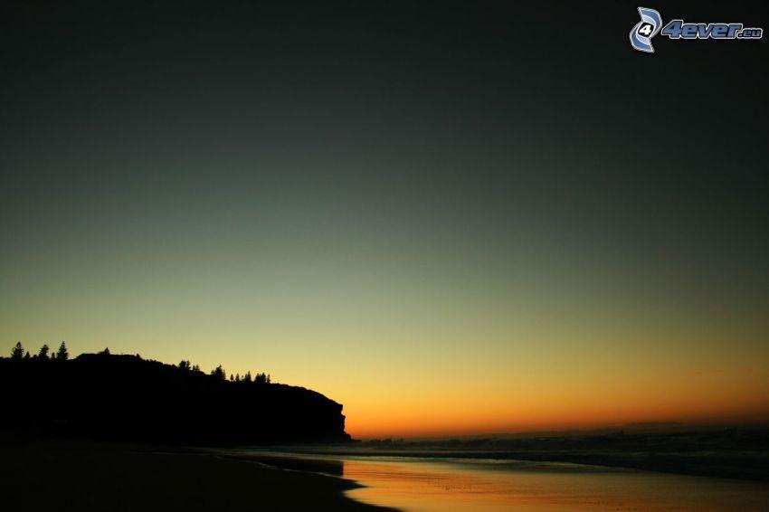costa, mar