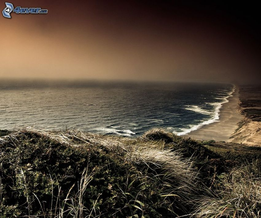 mar, costa