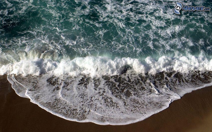 mar, playa de arena