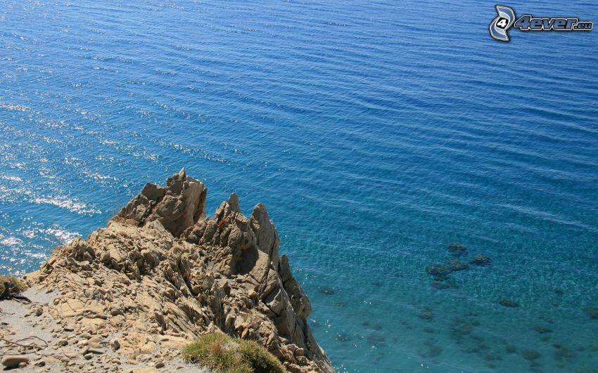 mar, roca