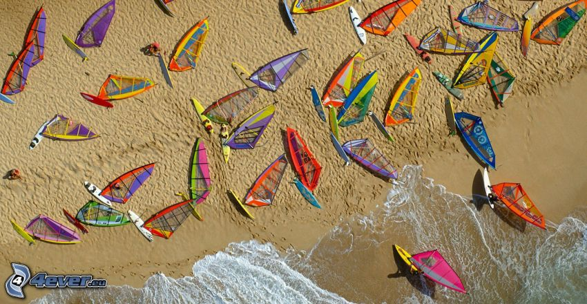 surf, playa de arena, mar
